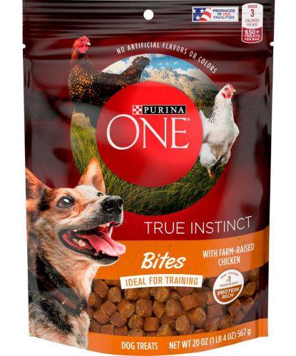Purina® ONE® True Instinct Bites, Chicken, 566-g