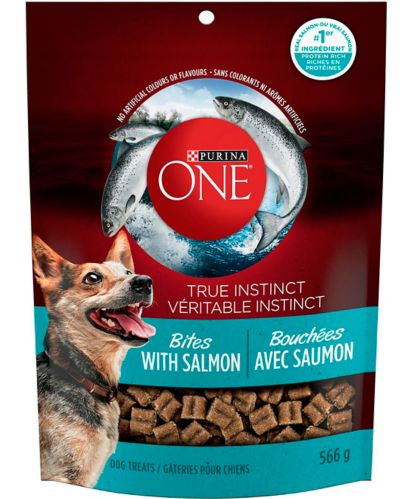 Purina® ONE® True Instinct Bites, Salmon, 566-g