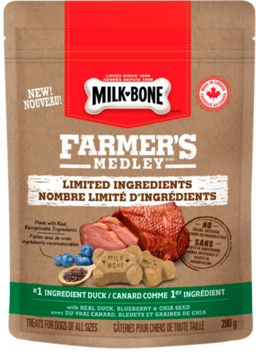 Milkbone Farmer's Medley Limited Ingredient Dog Treats