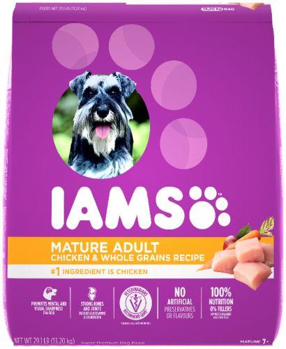 Nourriture sèche pour chiens âgés IAMS PROACTIVE HEALTH, poulet, 13,2 kg
