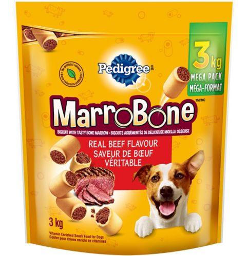 Gâteries pour chiens Pedigree Marrobone, 3 kg