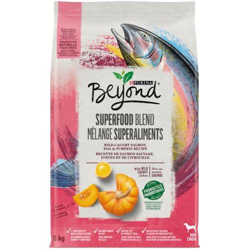 Nourriture sèche naturelle pour chiens Purina Beyond Mélange Superaliments, saumon, 5 kg Image de l'article