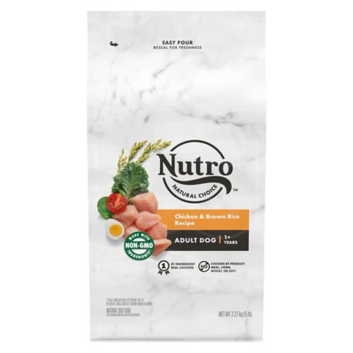 Nutro Wholesome Essentials™ Adult Dry Dog Food, Chicken, Rice & Sweet Potato, 5-lb