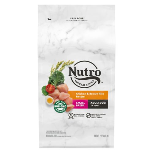 Nutro Wholesome Essentials™ Small Breed Adult Dry Dog Food, Chicken, Rice & Sweet Potato, 5-lb