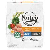 Nourriture sèche pour chiens adultes de grandes races Nutro Wholesome Essentials, poulet, riz et patate douce, 30 lb