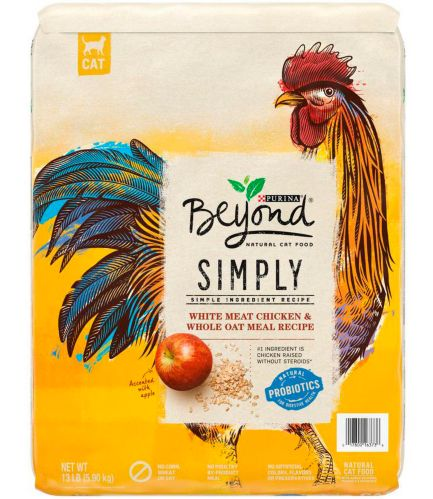Nourriture sèche naturelle pour chats Purina Beyond Simply, poulet, 1,36 kg
