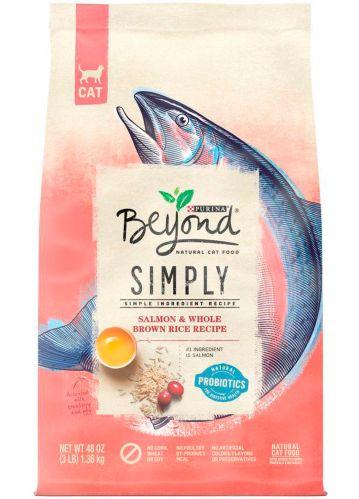 Nourriture sèche naturelle pour chats Purina Beyond Simply, saumon, 1,36 kg