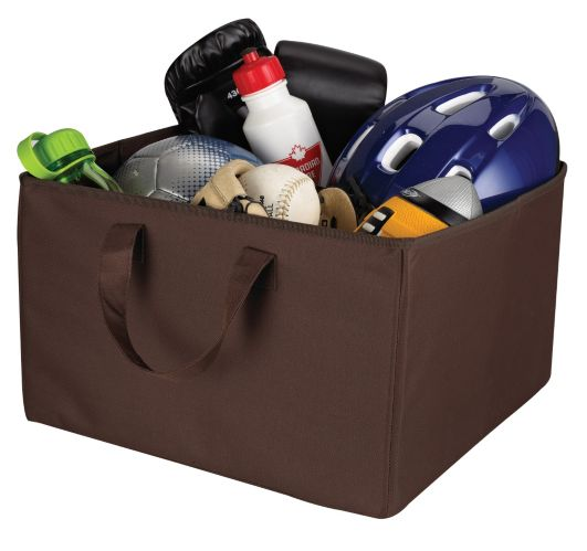 For Living Collapsible Basket with Handles - Large