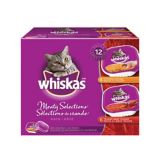 Whiskas Meaty Selections Cat Food, 12-pk | Whiskasnull