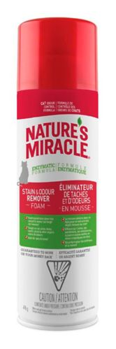 Éliminateur d'odeurs et de taches de chats Nature's Miracle