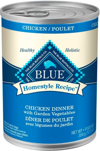 Blue Buffalo BLUE Homestyle Recipe Chicken Dinner with Vegetables Dog Food