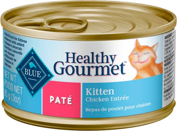 Blue Buffalo BLUE Healthy Gourmet Chicken Entrée Kitten Cat Food