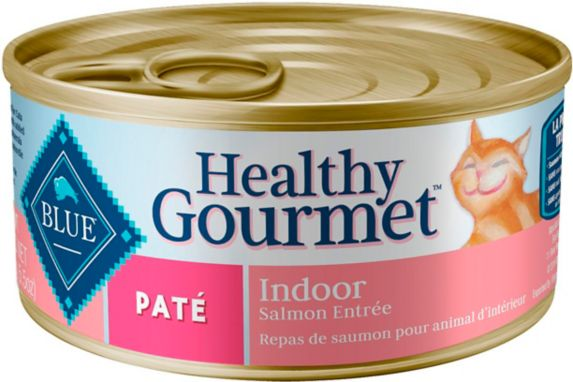 Blue Buffalo BLUE Healthy Gourmet Pate Salmon Entrée Adult Cat Food