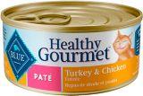 Pâté gourmet santé pour chat adulte Blue Buffalo, poulet et dinde   Blue Buffalonull