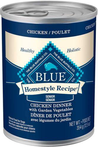 Blue Buffalo BLUE Homestyle Recipe Chicken Senior Dog Food