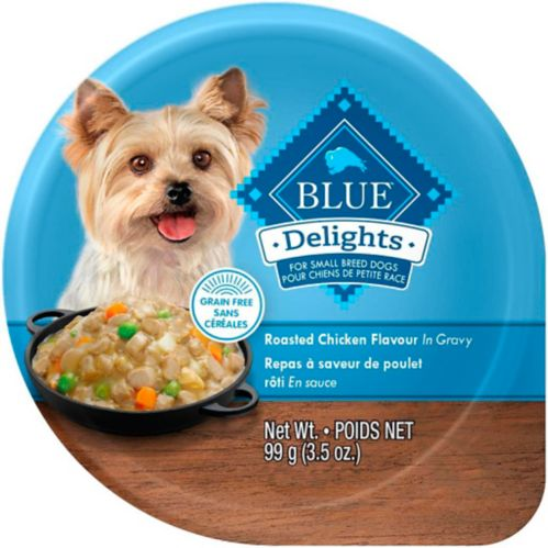 Repas Blue Buffalo Delights pour chien, poulet rôti en sauce
