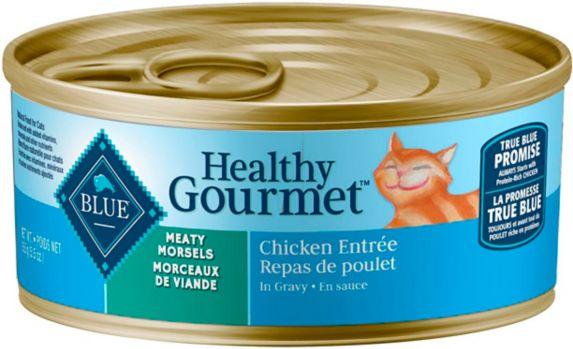 Repas gourmet santé Blue Buffalo, chat, morceaux de poulet