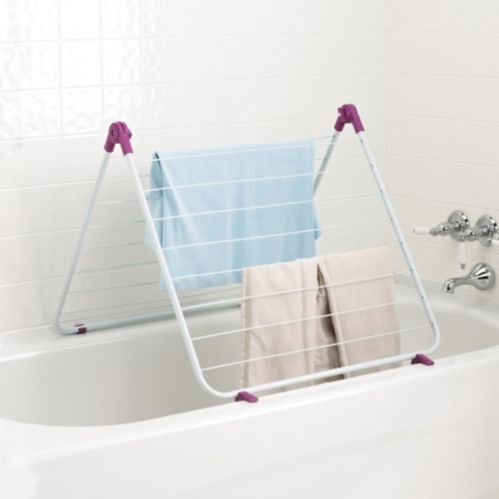For Living Over the Tub Drying Rack