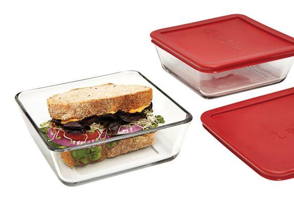 Contenants pour sandwichs, 4 pces Image de l'article