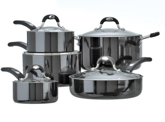 Lagostina Casa Mia Non-Stick Cookware Set, 10-pc
