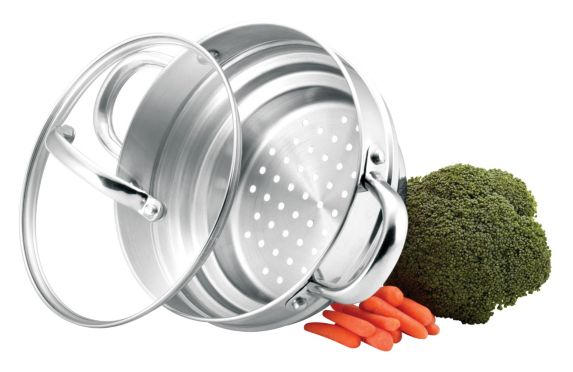 MASTER Chef Universal Steamer Insert with Lid