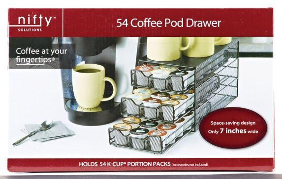 Nifty 3-Tier 54 K Cup Drawer