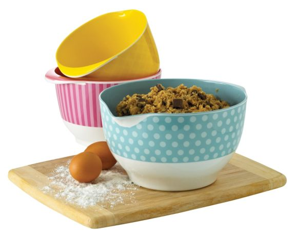 Cake Boss Mixing Bowls, 3-pc