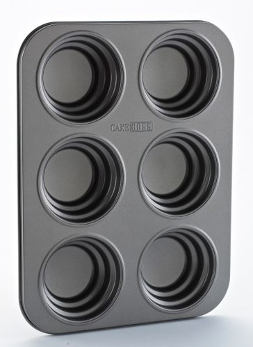 Cake Boss Tiered Circle Cakelette Pan, 6-Cup