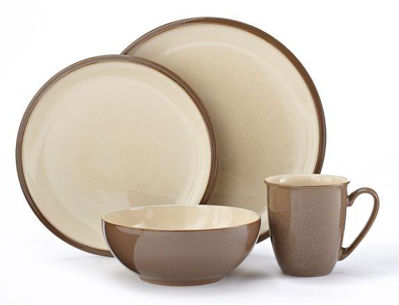Denby Cappuccino Dinnerware Set, 16-pc