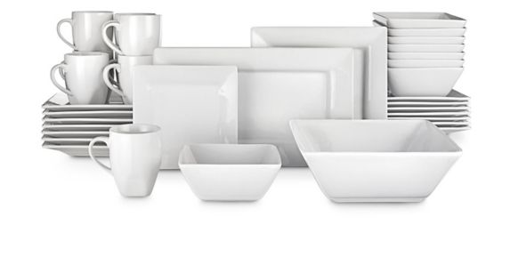 CANVAS Quatro Dinnerware Set, 34-pc