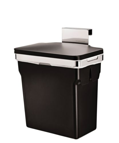 Simplehuman Cabinet Door Trash Can 10, Kitchen Cabinet Trash Can Inserts