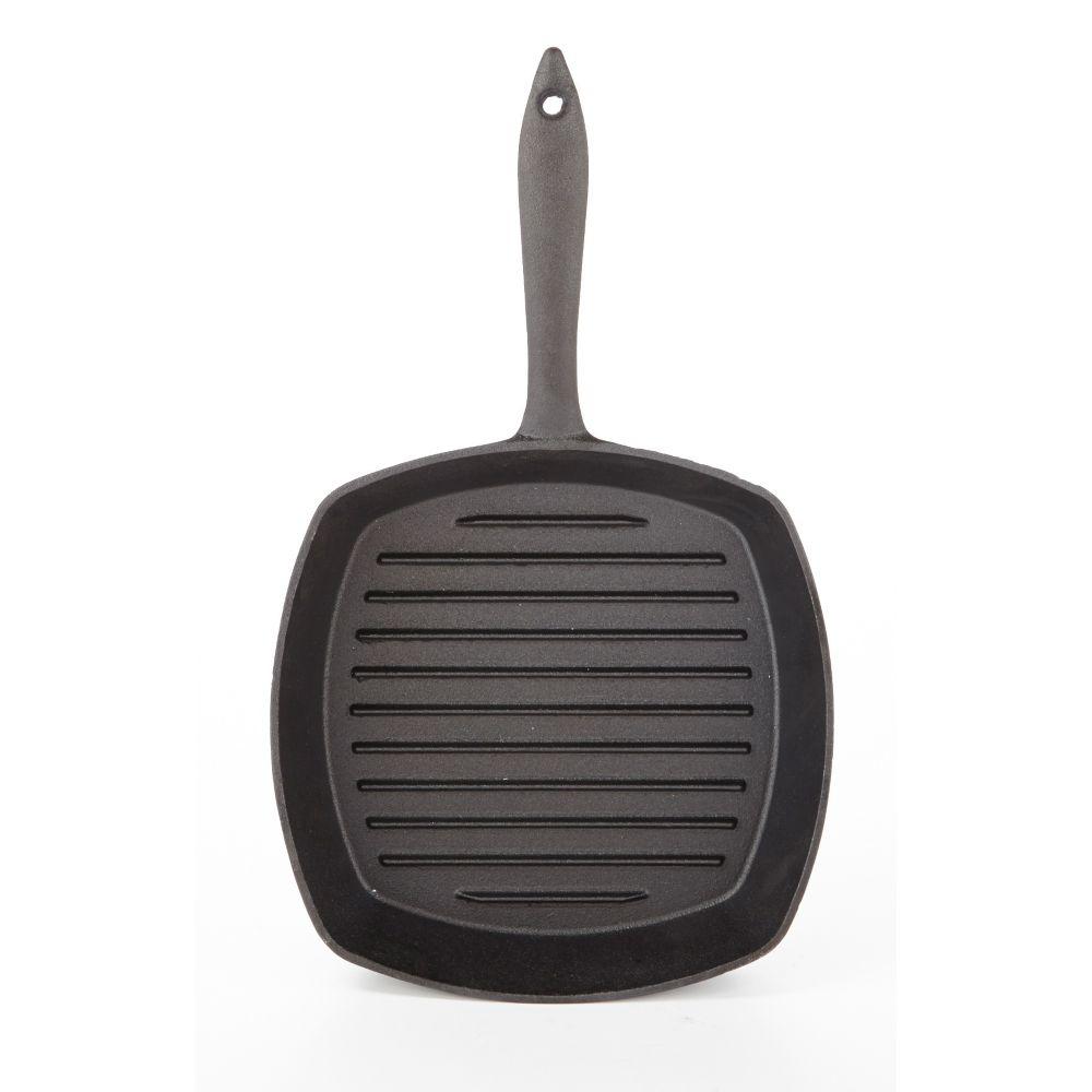 Lagostina Black Cast Iron Grill, 10-in