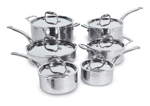 Lagostina Artiste-Clad Hand Hammered Design Cookware Set, 12-pc Product image
