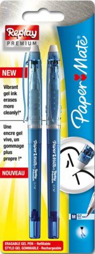 Papermate Replay, Blue, 2-pk