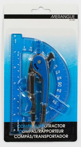 Compass and Protractor Set
