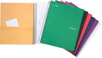 Five Star 5 Subject Notebook, 400-pages | Canadian Tire