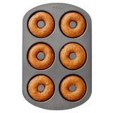 Wilton Gourmet Choice Donut Pan, 6-Cup | Wiltonnull