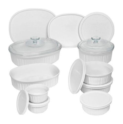 Corningware Bakeware Set, 18-pc