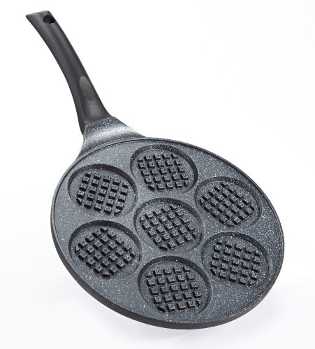 Heritage The Rock Waffle Pan