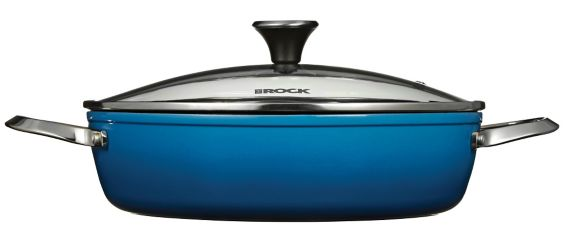 Heritage The Rock One-Pot Dutch Oven, Blue, 12-in