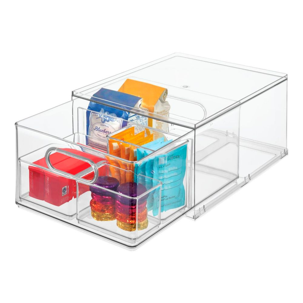 iDesign All-Purpose Stackable Divided Drawer
