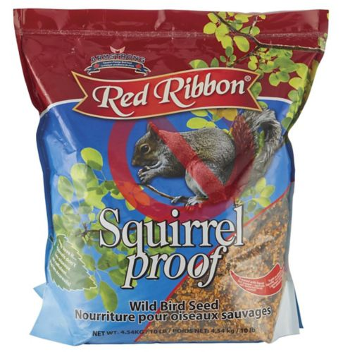 Red Ribbon Squirrel-Proof Wild Bird Seed