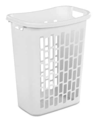 Sterilite Open Rectangular Laundry Hamper