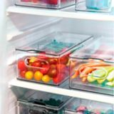 The Home Edit by iDESIGN Large Divided Fridge Bin | The Home Editnull