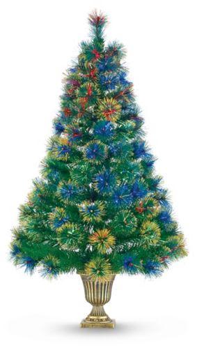 NOMA Fibre Optic Potted Tree, 4-ft Product image