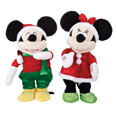 Mickey and Minnie Mouse Holiday Animated Steppers, Assorted Product image