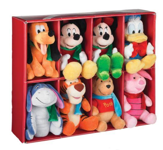 Disney Plush Holiday Ornament Set, 8-pc Product image