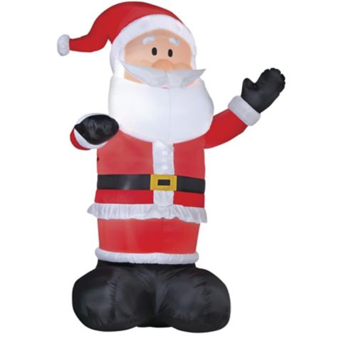 GEMMY Inflatable Santa, 14-ft Product image