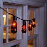 Outdoor Black Crackle Lights   FOR LIVINGnull