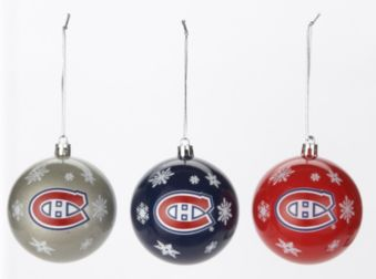 Montreal Canadiens Christmas Ornament Set Assorted Canadian Tire